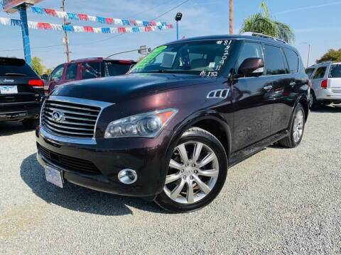 2011 Infiniti QX56 for sale at LA PLAYITA AUTO SALES INC - 3271 E. Firestone Blvd Lot in South Gate CA