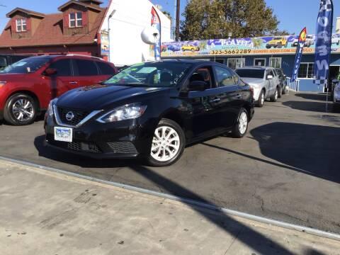 2019 Nissan Sentra for sale at LA PLAYITA AUTO SALES INC - 3271 E. Firestone Blvd Lot in South Gate CA
