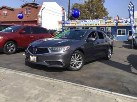 2018 Acura TLX for sale at LA PLAYITA AUTO SALES INC - 3271 E. Firestone Blvd Lot in South Gate CA
