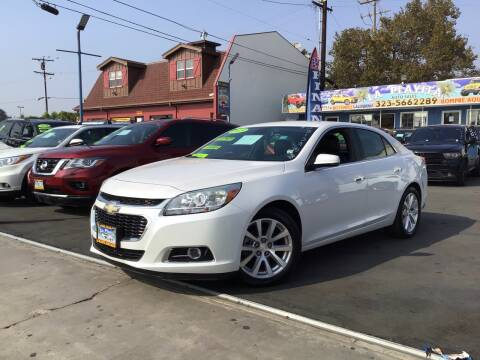 2015 Chevrolet Malibu for sale at LA PLAYITA AUTO SALES INC - 3271 E. Firestone Blvd Lot in South Gate CA