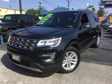2017 Ford Explorer for sale at LA PLAYITA AUTO SALES INC in South Gate CA