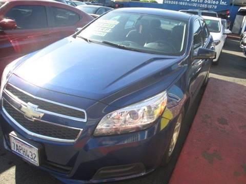 2013 Chevrolet Malibu for sale at LA PLAYITA AUTO SALES INC in South Gate CA
