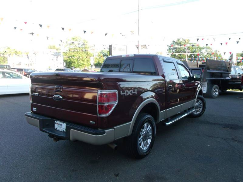 2010 Ford F-150 4x4 Lariat 4dr SuperCrew Styleside 5.5 ft. SB - Edison NJ