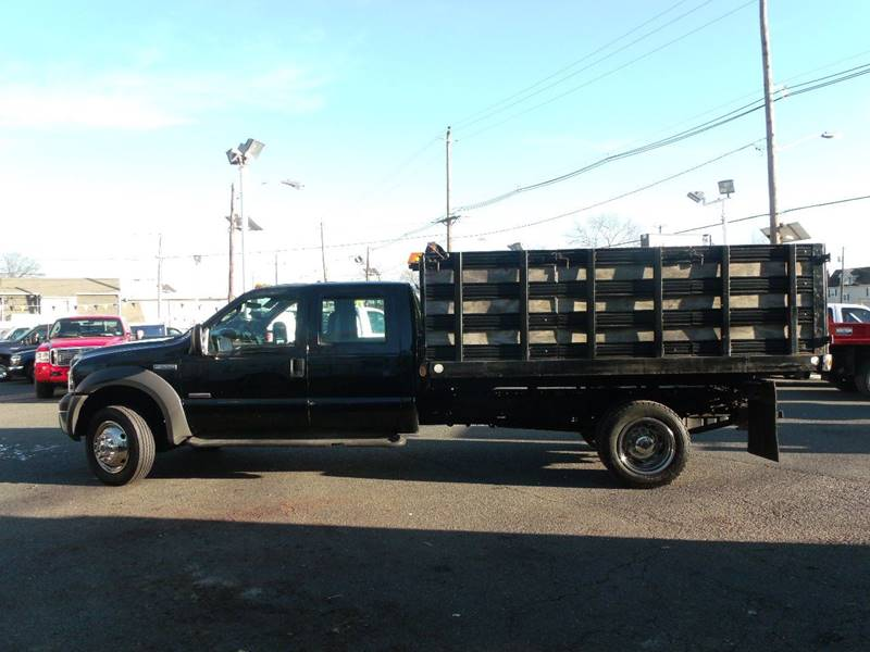 2005 Ford F-550 XL, 12' Rack Body Dump, 4x4, 6.0 Diesel - Edison NJ