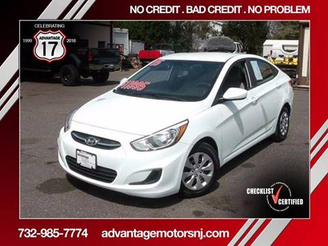 2015 Hyundai Accent for sale in Edison, NJ