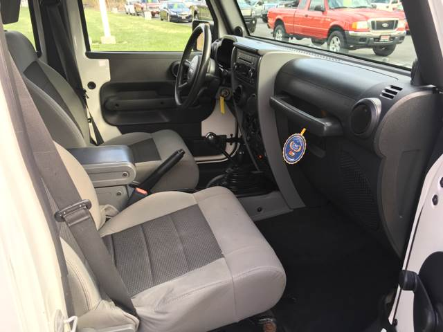 2009 Jeep Wrangler Unlimited 4x4 X 4dr SUV - Newton NJ