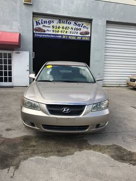 2006 Hyundai Sonata for sale in Hollywood, FL