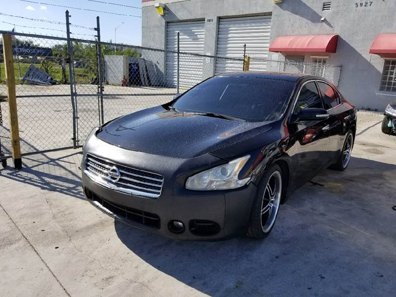 2009 Nissan Maxima for sale at KINGS AUTO SALES INC in Hollywood FL