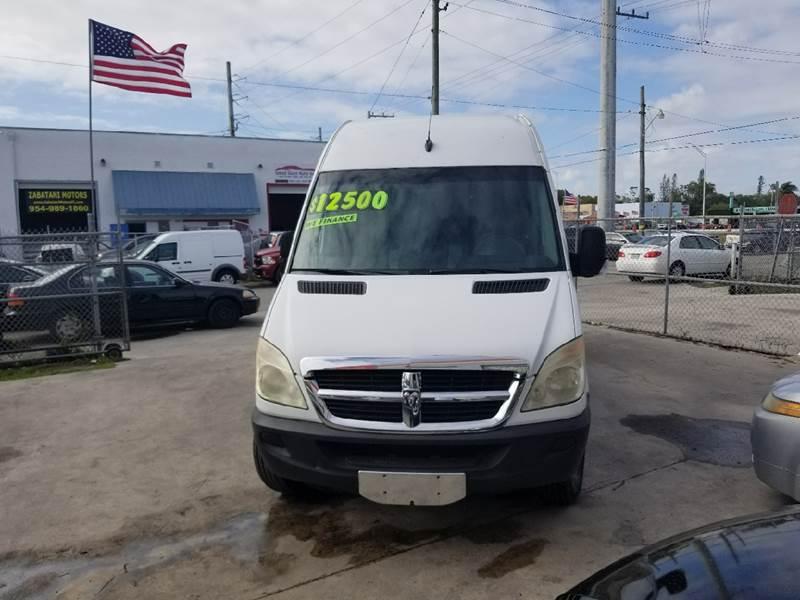 Dodge Sprinter Cargo 2008 2500 170 WB 3dr Extended Cargo Van