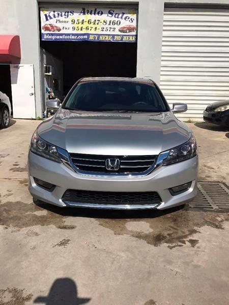 2014 Honda Accord EX L V6. Check Availability. 2014 Honda Accord For Sale  At KINGS AUTO SALES In Hollywood FL