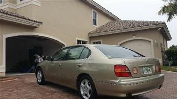 1999 Lexus GS 300 for sale at KINGS AUTO SALES INC in Hollywood FL