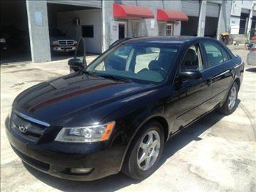 2006 Hyundai Sonata for sale at KINGS AUTO SALES INC in Hollywood FL