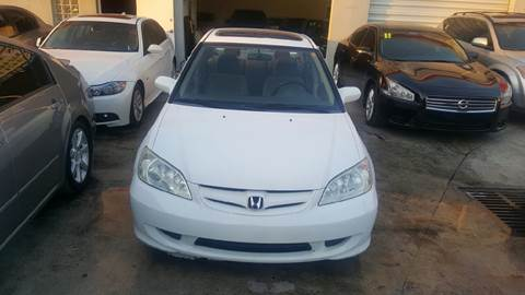 2005 Honda Civic for sale at KINGS AUTO SALES INC in Hollywood FL