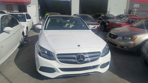 2016 Mercedes-Benz C-Class for sale at KINGS AUTO SALES INC in Hollywood FL