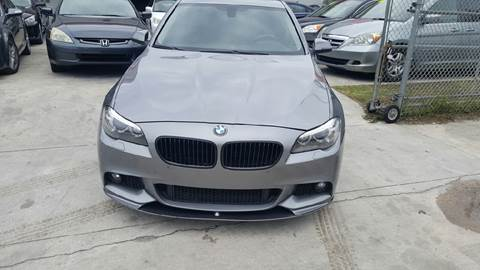 2015 BMW 5 Series for sale at KINGS AUTO SALES INC in Hollywood FL