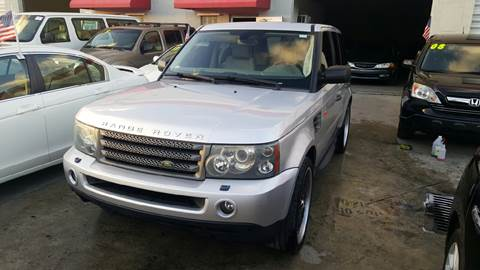2006 Land Rover Range Rover Sport for sale at KINGS AUTO SALES INC in Hollywood FL