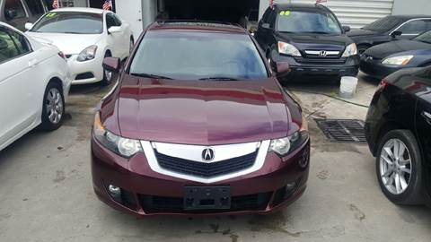 2009 Acura TSX for sale at KINGS AUTO SALES INC in Hollywood FL