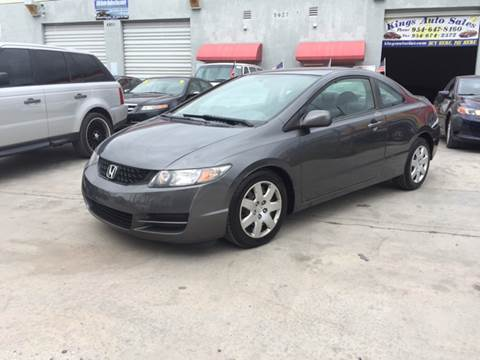 2009 Honda Civic for sale at KINGS AUTO SALES INC in Hollywood FL