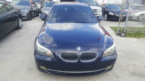 2008 BMW 5 Series for sale at KINGS AUTO SALES INC in Hollywood FL