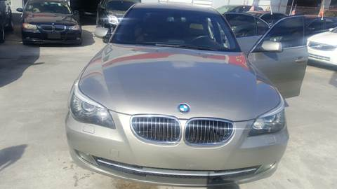 2009 BMW 5 Series for sale at KINGS AUTO SALES INC in Hollywood FL