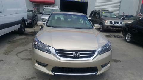 2015 Honda Accord for sale at KINGS AUTO SALES INC in Hollywood FL
