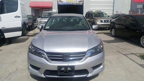 2013 Honda Accord for sale at KINGS AUTO SALES INC in Hollywood FL