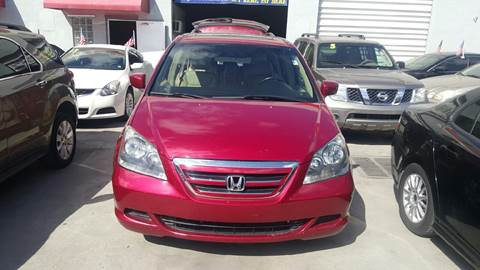 2006 Honda Odyssey for sale at KINGS AUTO SALES INC in Hollywood FL