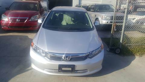 2012 Honda Civic for sale at KINGS AUTO SALES INC in Hollywood FL