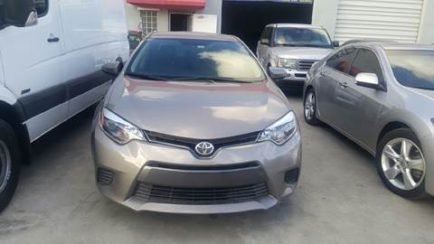 2015 Toyota Corolla for sale at KINGS AUTO SALES INC in Hollywood FL