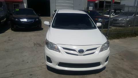 2012 Toyota Corolla for sale at KINGS AUTO SALES INC in Hollywood FL