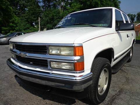 1998 Chevrolet Tahoe for sale in Carlisle, PA