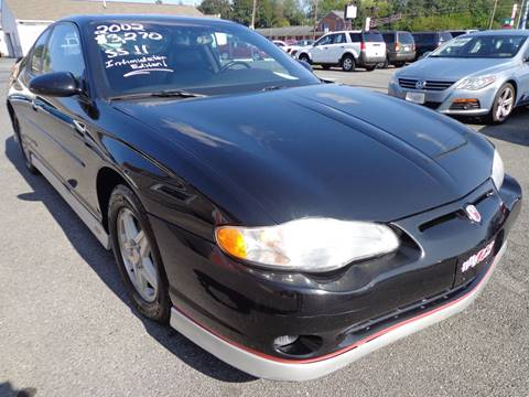 2002 Chevrolet Monte Carlo for sale in Carlisle, PA