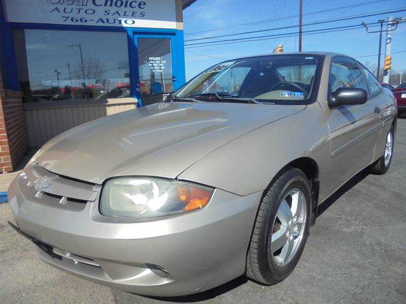2003 Chevrolet Cavalier Ls 2dr Coupe In Mechanicsburg Pa Clear