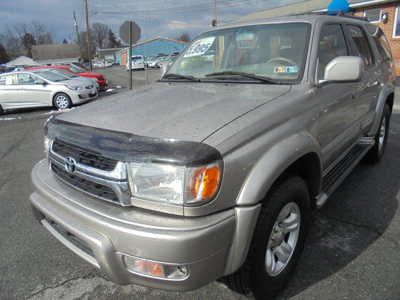 2002 Toyota 4runner Limited 4wd 4dr Suv In Mechanicsburg Pa Clear