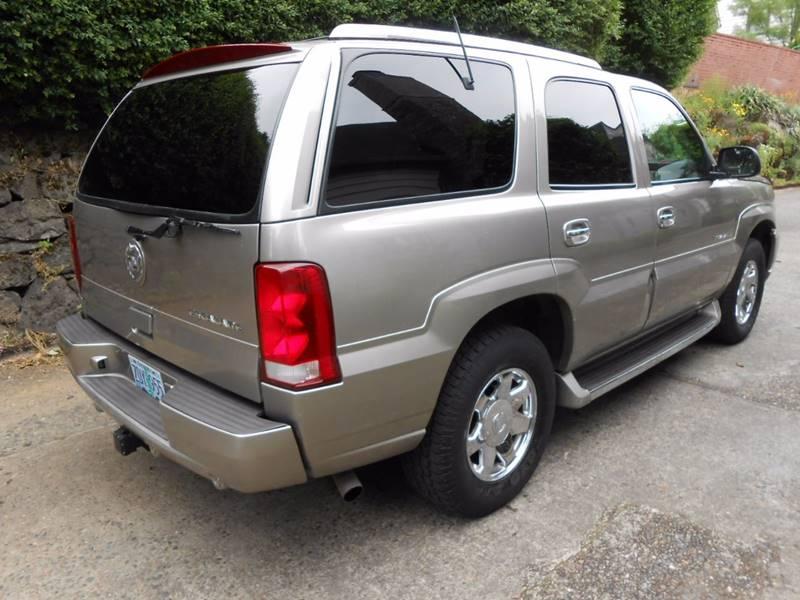 2003 Cadillac Escalade AWD 4dr SUV - Portland OR