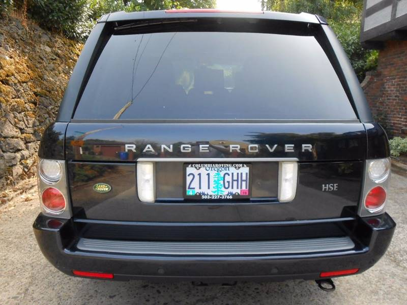 2008 Land Rover Range Rover 4x4 HSE 4dr SUV - Portland OR