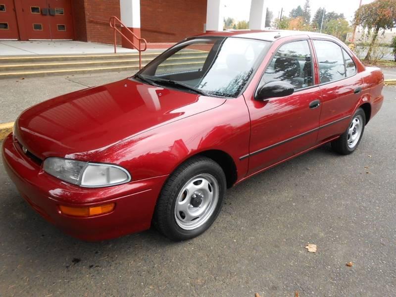 1995 GEO Prizm for sale at JOSE MESA AUTO WHOLESALE , LLC in Portland OR