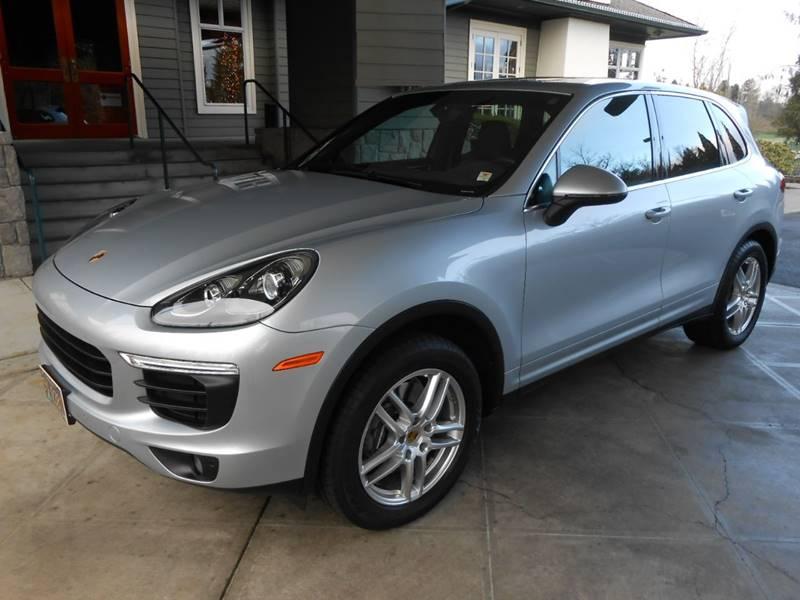 2016 Porsche Cayenne for sale at JOSE MESA AUTO WHOLESALE , LLC in Portland OR