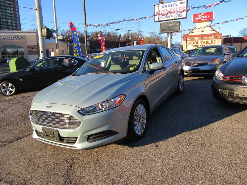 2014 Ford Fusion Hybrid S 4dr Sedan In Yonkers Ny Daniel Auto Sales