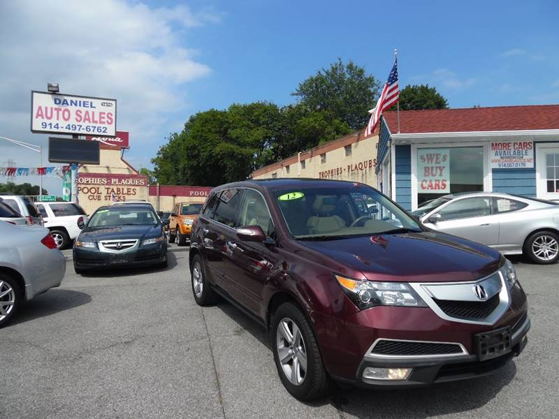 2012 Acura Mdx SH-AWD 4dr SUV In Yonkers NY - Daniel Auto Sales on