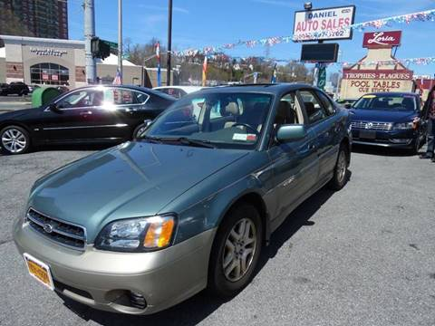 2002 Subaru Outback for sale at Daniel Auto Sales in Yonkers NY