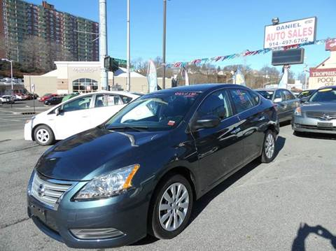 2013 Nissan Sentra for sale at Daniel Auto Sales in Yonkers NY