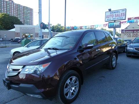 2008 Acura MDX for sale at Daniel Auto Sales in Yonkers NY