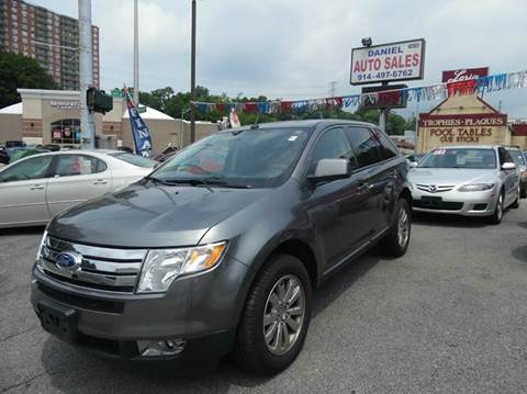 2010 Ford Edge for sale at Daniel Auto Sales in Yonkers NY