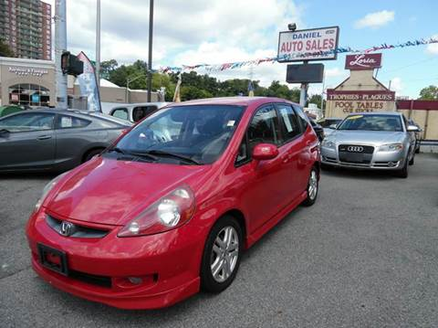 2008 Honda Fit for sale at Daniel Auto Sales in Yonkers NY