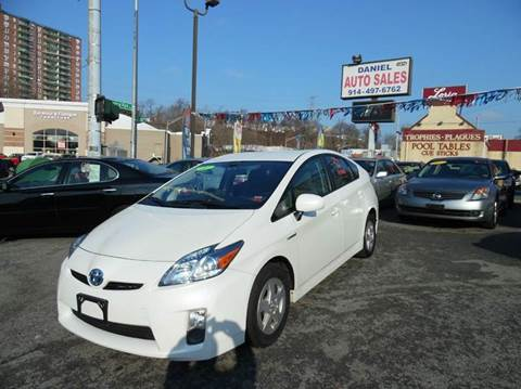2011 Toyota Prius for sale at Daniel Auto Sales in Yonkers NY