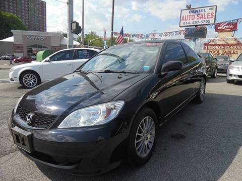 2005 Honda Civic for sale at Daniel Auto Sales in Yonkers NY