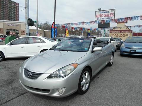 2006 Toyota Camry Solara for sale at Daniel Auto Sales in Yonkers NY