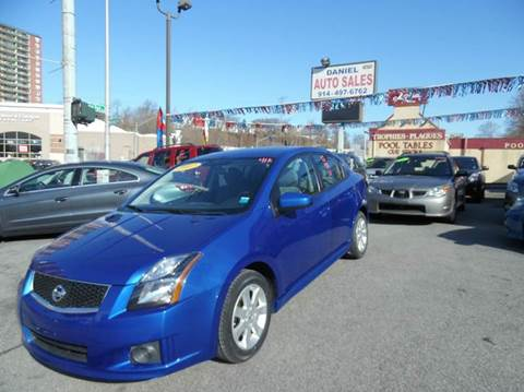2012 Nissan Sentra for sale at Daniel Auto Sales in Yonkers NY