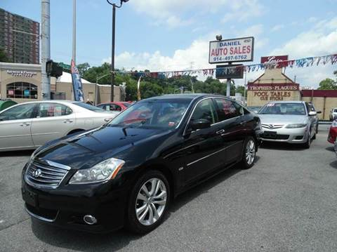 2008 Infiniti M35 for sale at Daniel Auto Sales in Yonkers NY